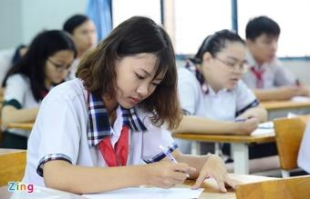 Sở GD&ĐT TP.HCM đề xuất bỏ phương án thi tuyển vào lớp 10 năm nay