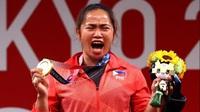 VĐV Philippines mừng phát khóc khi giành huy chương vàng lịch sử ở Olympic