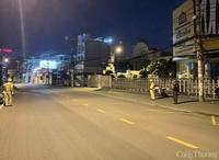 Ghi nhận giờ giới nghiêm ở TP. Hồ Chí Minh