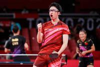 Cú sốc Olympic 2020: Bóng bàn Nhật Bản ngược dòng siêu hạng trước Trung Quốc