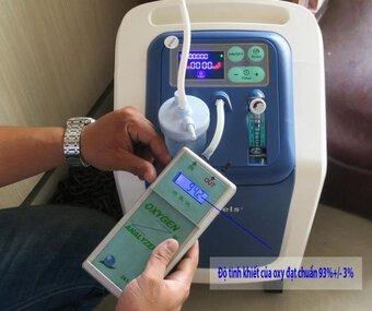 Mua thiết bị tạo oxy tại nhà: Không cần thiết vì không thể tự sử dụng