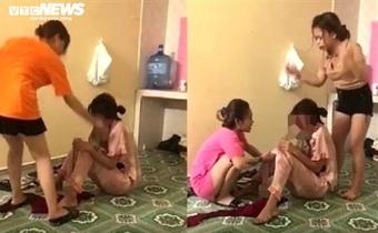 Khởi tố hai kẻ côn đồ tra tấn thiếu nữ như thời trung cổ ở Thái Bình