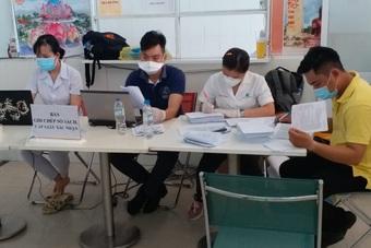 Sóc Trăng: Tiêm vắc xin phòng Covid-19 cho công nhân lao động đến ngày 9/8