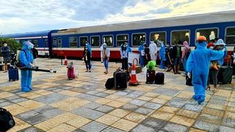 1 trường hợp trở về Hà Tĩnh trên chuyến tàu SE14 dương tính với COVID-19
