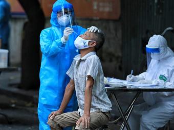 Cập nhật dịch Covid-19 sáng 27/7: Hà Nội thêm 19 trường hợp dương tính với SARS-CoV-2