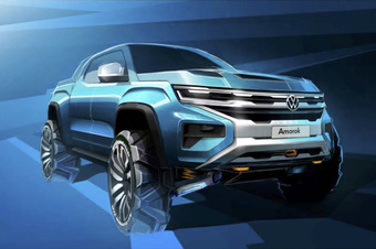 Xe bán tải Volkswagen Amarok nâng cấp 'đồ chơi' offroad