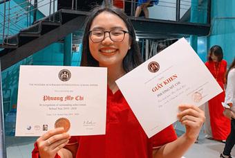 Tiết lộ điểm thi tốt nghiệp THPT của Phương Mỹ Chi