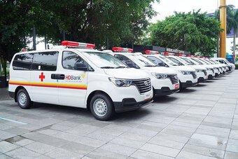 Giao bộ, địa phương chủ động quyết định tiếp nhận tài trợ xe cứu thương phòng, chống dịch bệnh