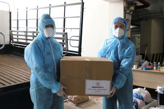 EVNGENCO 3 liên tục tiếp sức tuyến đầu chống dịch tại TP.HCM