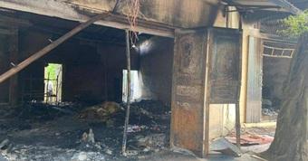 Đôi vợ chồng tử vong trong vụ cháy ở Hải Phòng: Cơ thể có nhiều vết đâm