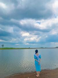 Ngắm bình minh và hoàng hôn tại hồ nước ngọt Ea Kao, chỉ cần đứng im đã có ảnh đẹp!