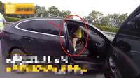 Kiểm tra chiếc ô tô phanh gấp trên cao tốc, cảnh sát vừa mở cửa liền đứng hình trước cảnh bên trong