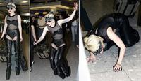 'Tiền đình' những lần đi giày cà kheo 40cm như diễn xiếc của Lady Gaga