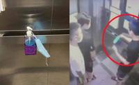 Thanh niên khạc nhổ trong thang máy chung cư tường trình: Do bị vướng họng và khẩu trang đứt