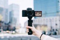 Máy ảnh Sony Alpha ZV-E10 chuyên dùng cho livestream, quay phim 4K