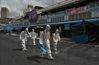 Tình hình dịch COVID-19 tại Phnom Penh có dấu hiệu thuyên giảm