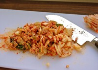 Hướng dẫn làm món canh kim chi nấu đậu phụ
