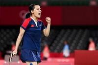 Hot girl cầu lông Nguyễn Thùy Linh có trận thắng đi vào lịch sử tại Olympic Tokyo 2020