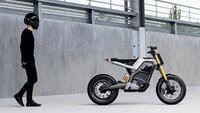 Vẻ đẹp độc đáo của mẫu mô tô điện Concept-E