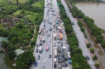 Gần 37 nghìn xe đi ''luồng xanh'' tới tại các tỉnh thành đang giãn cách