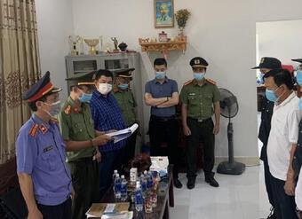 Bắt tạm giam Giám đốc và 1 Phó Giám đốc Cảng hàng không Quốc tế Phú Bài