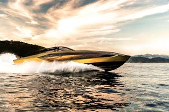 Chi tiết du thuyền Tecnomar for Lamborghini 63, mạnh gần 4.000 mã lực