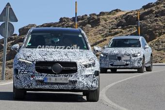 Mercedes-Benz GLC 2022 được nâng cấp mạnh mẽ để cạnh tranh với các đối thủ