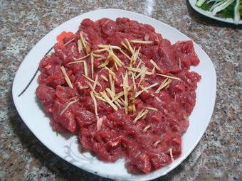 Ứa nước miếng với bò cuộn hành nướng