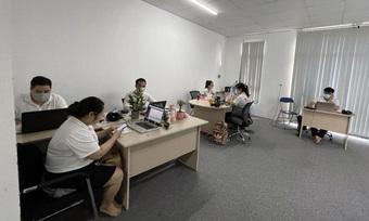 Lập biên bản 24 người làm việc tại văn phòng công ty vi phạm phòng chống dịch