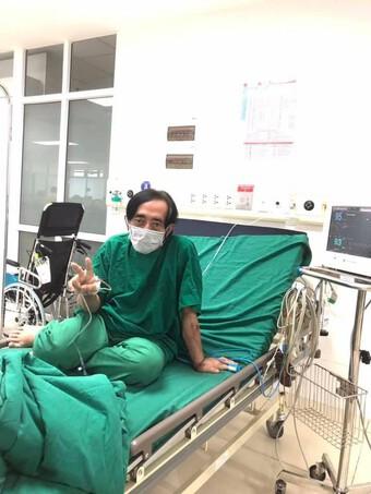 Nghệ sĩ Giang Còi lên tiếng về tin đồn đang điều trị tại nơi bị phong tỏa vì Covid-19