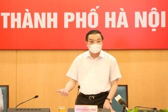 Chủ tịch TP.Hà Nội: Nơi có nguy cơ cao có thể áp dụng biện pháp mạnh hơn Chỉ thị số 17