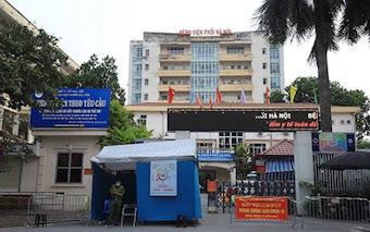 Hà Nội thông báo khẩn tìm người đã tới Bệnh viện Phổi
