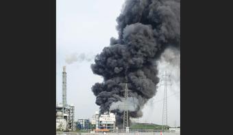 Nổ lớn tại khu công nghiệp hóa chất, Đức phát cảnh báo ''cực kỳ nguy hiểm''