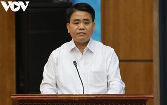Cựu Giám đốc Sở KH&ĐT Hà Nội khai gì về chỉ đạo của ông Nguyễn Đức Chung?