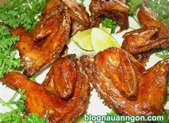Cách làm món chim cút nướng tỏi ớt