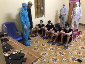 Thái Nguyên: Phát hiện 4 đối tượng người Trung Quốc nhập cảnh trái phép