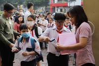 Đề xuất giữa tháng 8 khảo sát vào lớp 6 Trường chuyên Trần Đại Nghĩa