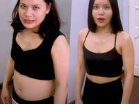 """Em gái """"Quỳnh búp bê"""" giảm 8kg vì bụng béo như """"bà đẻ"""""""
