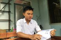 Ngưỡng mộ sự siêng năng của hai chàng trai thủ khoa phố núi Gia Lai