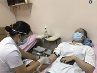 Rất cần người dân hiến máu trong mùa dịch
