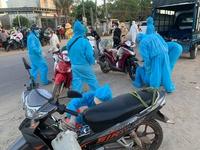 Nhóm cứu hộ xe cho bà con từ TP.HCM về tránh dịch qua Đà Nẵng