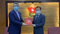 Anh Nguyễn Anh Tuấn tiếp Đại sứ Đặc mệnh toàn quyền Iran tại Việt Nam
