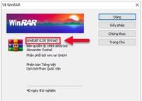 Phần mềm nén & giải nén WinRAR có trên hầu hết máy tính, dính lỗ hổng bảo mật