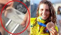 Nữ VĐV xinh đẹp giành huy chương ở Olympic nhờ… bao cao su