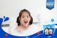 Chuyên gia khuyên mẹ chọn sữa tắm dưỡng ẩm kháng khuẩn
