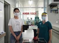 Ngọc Trinh chi 500 triệu đồng tặng máy ép tim hỗ trợ phòng chống dịch Covid-19