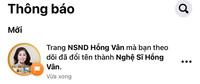"""Hồng Vân bất ngờ bỏ danh hiệu """"Nghệ sĩ nhân dân"""" trên fanpage và đổi thành """"Nghệ sĩ"""", lý do thật sự là gì?"""
