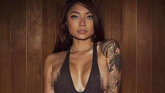 Cassie Trinh Võ - bồ cũ Binz thích 'phơi' ngực trần, Ngân 98 thua xa