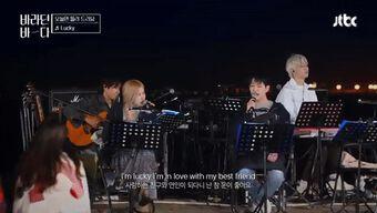 Onew (SHINee) song ca với Rosé (BlackPink) cực ngọt, đặc biệt là ánh mắt 'mê đắm' của 'thần chết' Lee Dong Wook