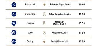 Lịch thi đấu Olympic Tokyo 2020 ngày 29/7: Nóng ở vịnh Tokyo